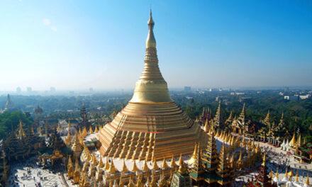 La pagoda sagrada de Shwedagon