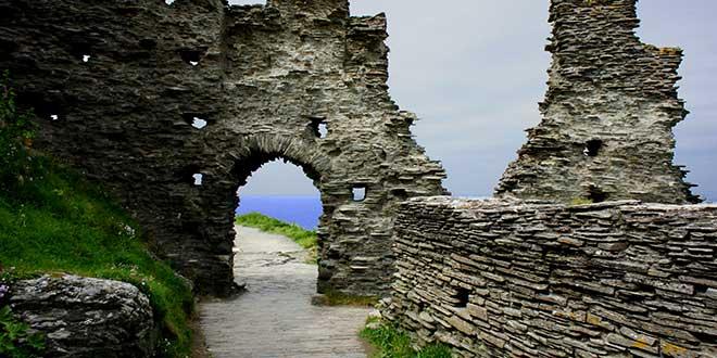 Castillo-de-Tintagel