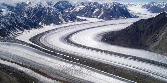 Glaciar-en-Kluane