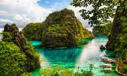 El asombroso lago Kayangan, Filipinas