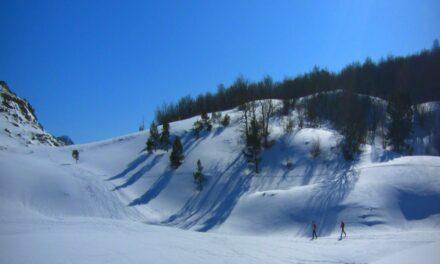 Esquí lowcost en la Lunada