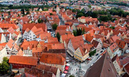 Nördlingen, una ciudad en un cráter