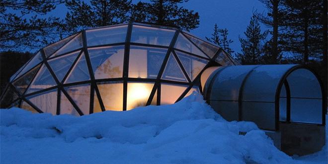 Kakslauttanen Ártico Resort, Finlandia