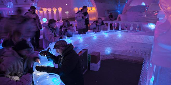 Aurora Ice Museum, Alaska