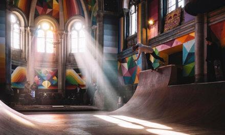 Iglesia de 100 años renace convertida en Skate Park