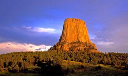 La torre del diablo está en Wyoming