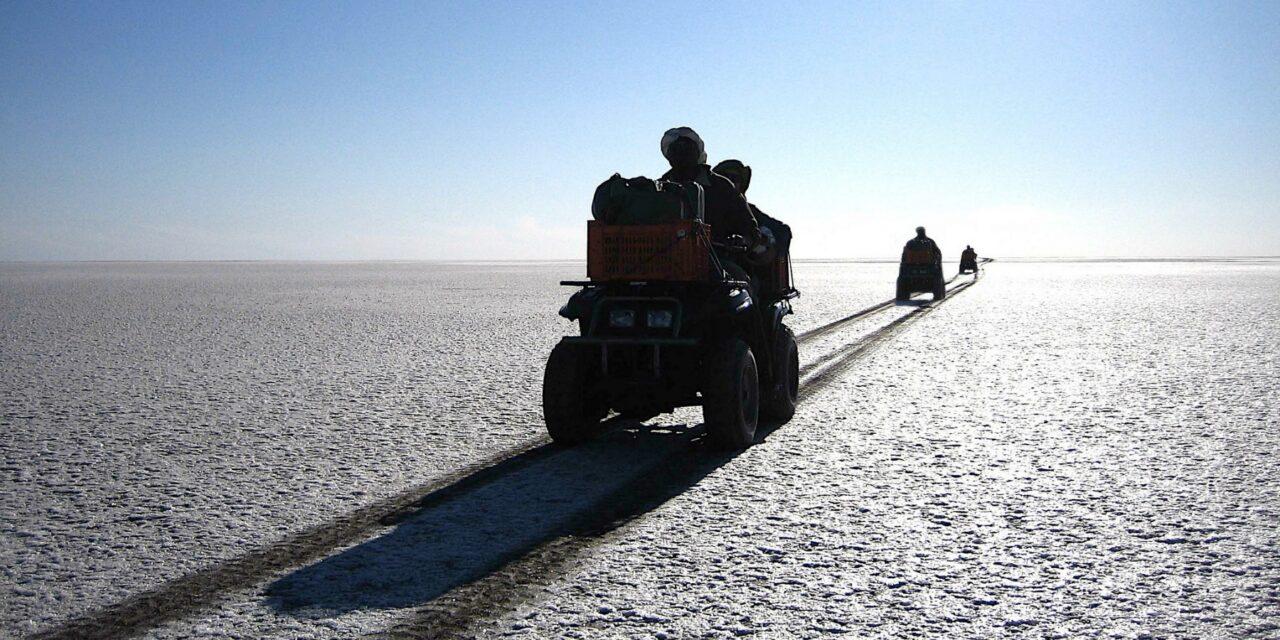 Isla Kubu, un desierto de sal en África