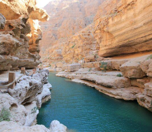 Wadi Shab, una aventura en Omán