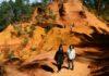 Le Sentier des Ocres; un sendero pintado de ocre en Francia