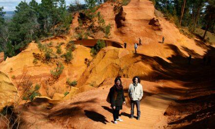 Le Sentier des Ocres, el sendero dorado de Francia