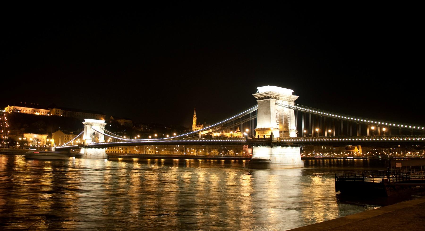 El Puente De Las Cadenas El Más Antiguo De Budapest El Viajero Feliz