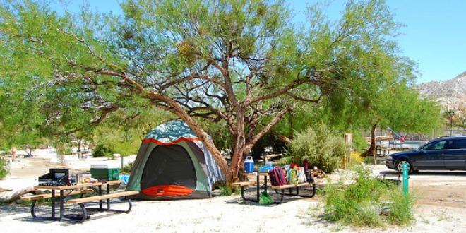 Caping Area Agua Caliente Park