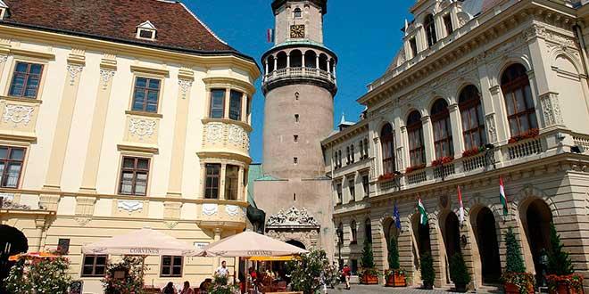 Edificios-en-Sopron