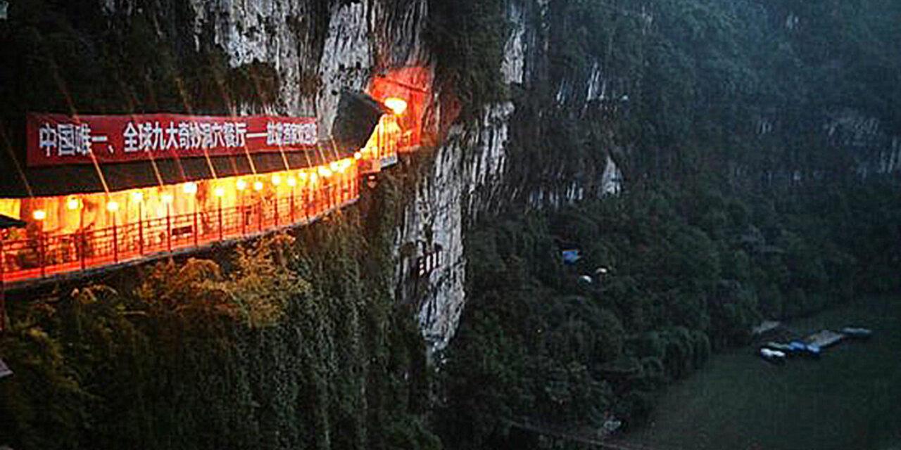 El restaurante colgante Fangweng