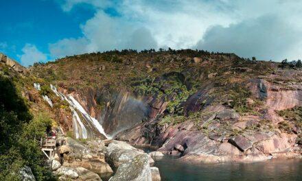 La cascada de Ézaro, un rincón mágico en Galicia