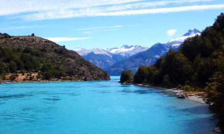 El azul del lago General Carrera