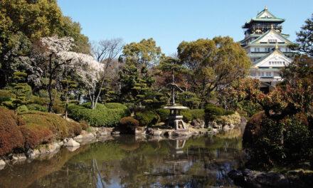 El jardín encantado de Nishinomaru, en Japón