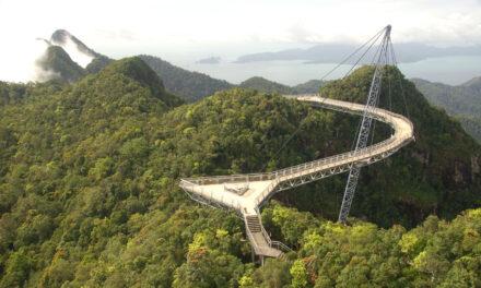 El puente del cielo de Langkawi