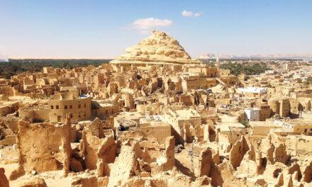 Siwa, un oasis en el desierto egipcio