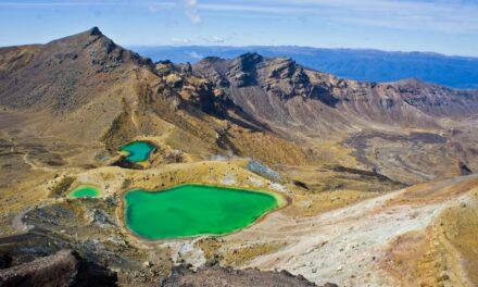 Parque nacional Tongariro, paisajes de película