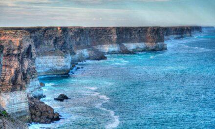 Los acantilados Bunda, el fin del mundo en Australia