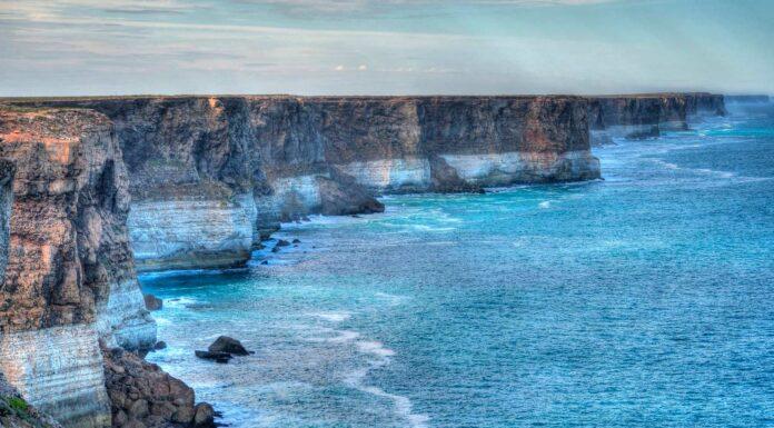 Acantilados de Bunda el fin del m undo en Australia