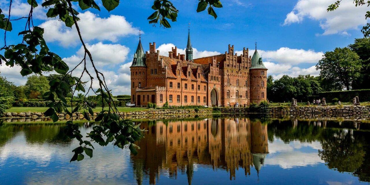 Castillo de Egeskov, un castillo de cuento