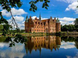 Castillo de Egeskov un castillo de cuento