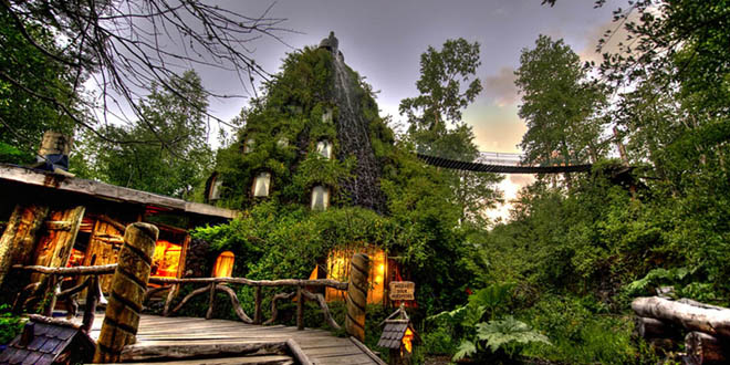 Hotel La Montana Mágica en Chile