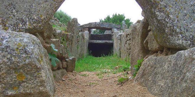 Interno Tomba dei Giganti