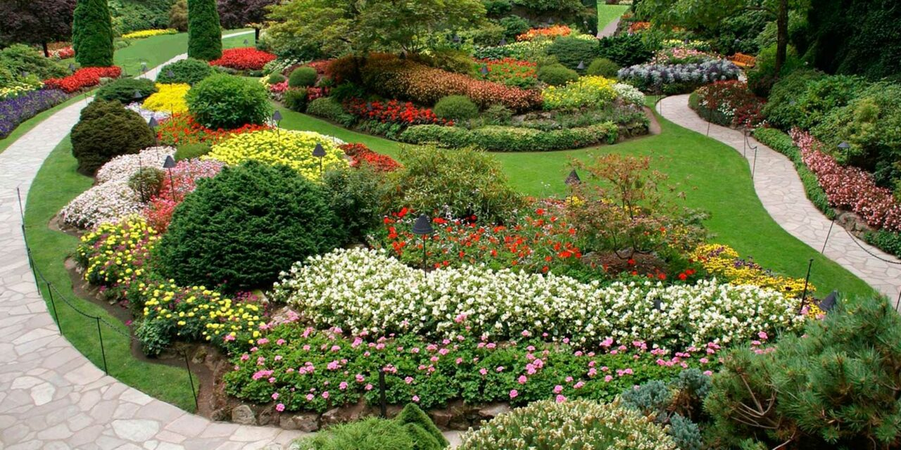 Los jardines de Butchart, sencillamente maravillosos
