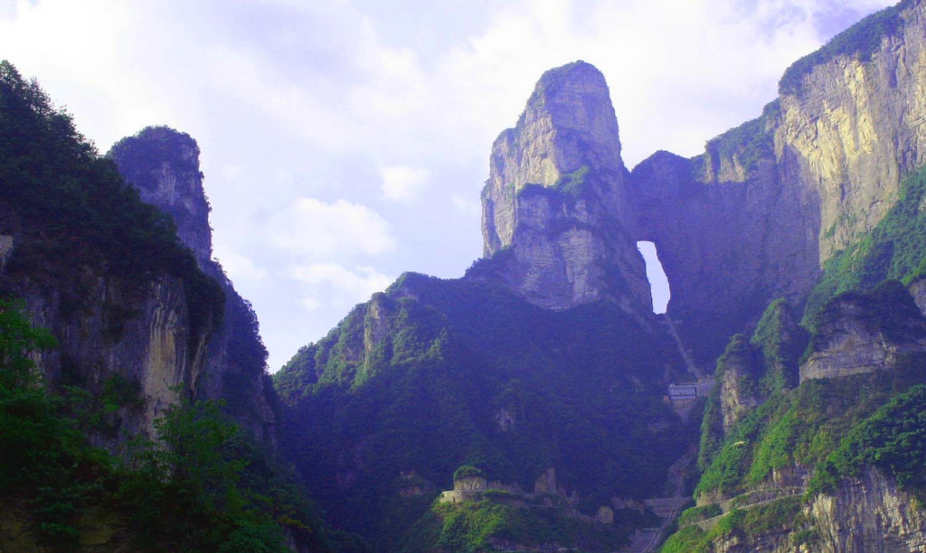 La puerta del cielo est en china el viajero feliz for Puerta al cielo china