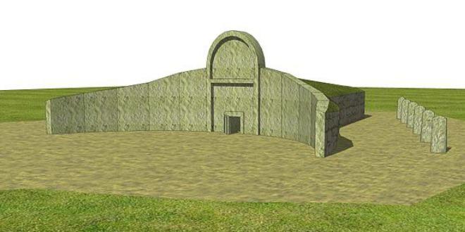 Reconstrucción Tomba dei Giganti