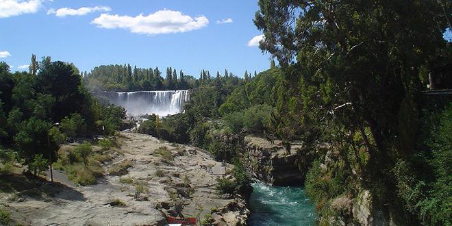 El histórico Salto de Laja, Chile