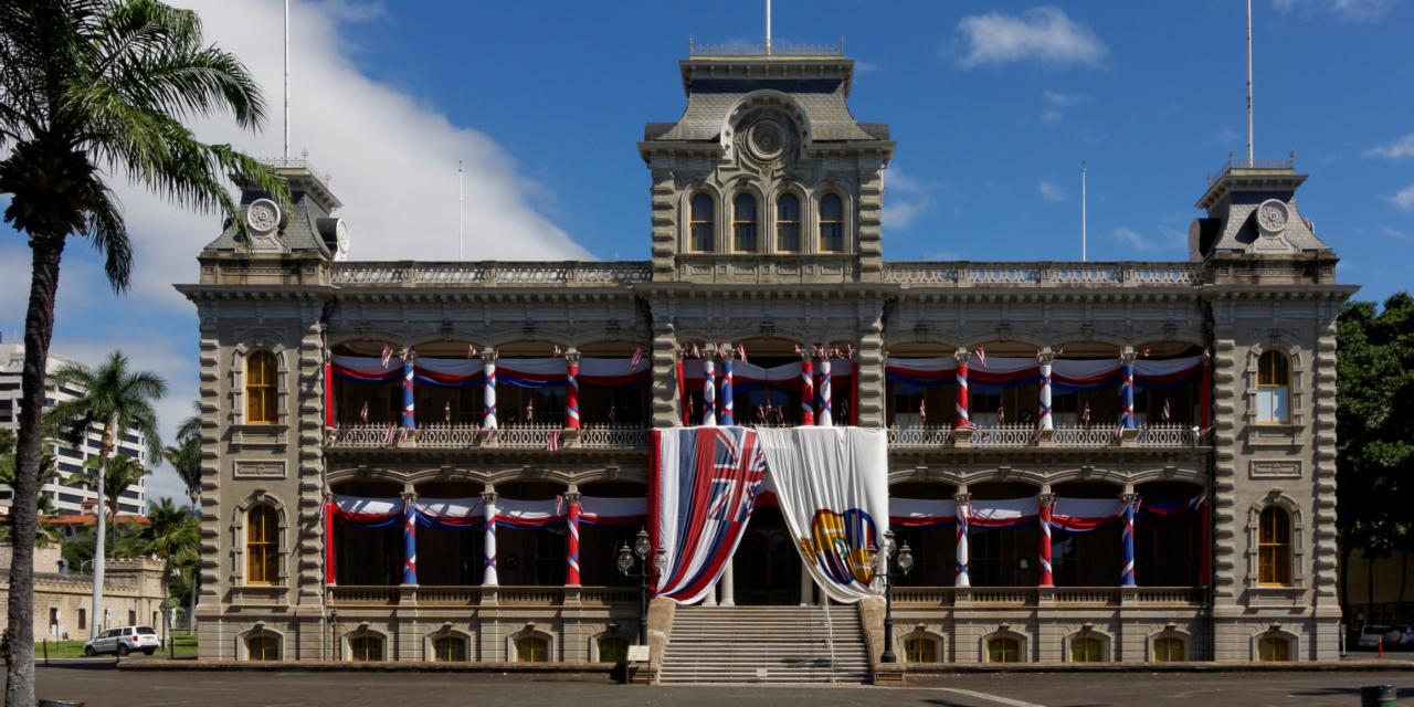 Palacio Iolani, la realeza hawaiana