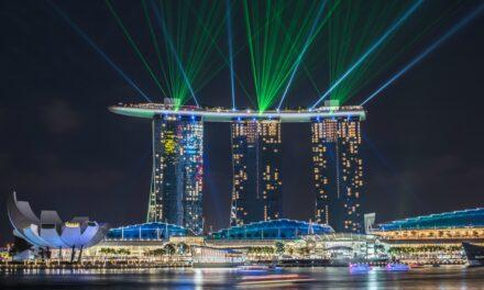 El Marina Bay Sands, entre luces y lujos