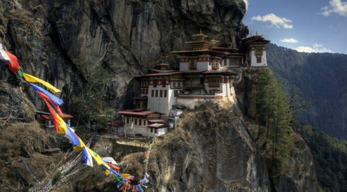 Monasterio Taktshang, el Nido del Tigre