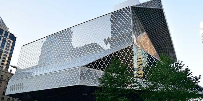 Biblioteca-central-de-Seattle