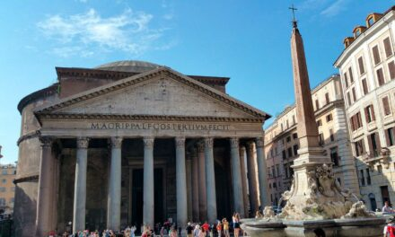 El Panteón de Agripa en Roma, una maravilla de la Antigüedad