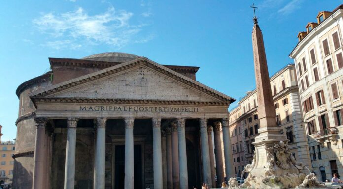 El Panteón de Agripa en Roma