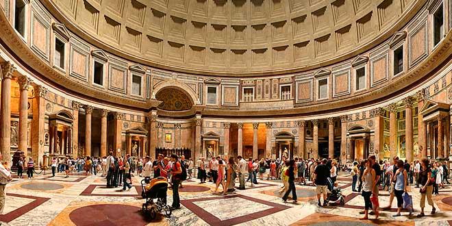 Interior Panteon Agripa