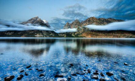 El lago Jenny, aguas puras y transparentes