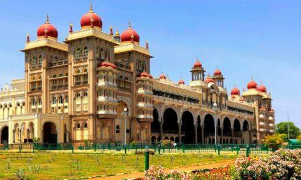 El palacio de Mysore, lujo y ostentación infinitos