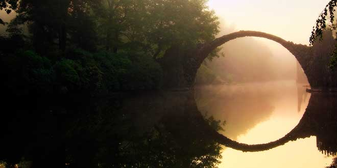 Resultado de imagen para puente de Rakotzbrücke