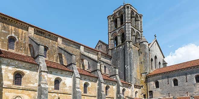 Vezelay-abadia