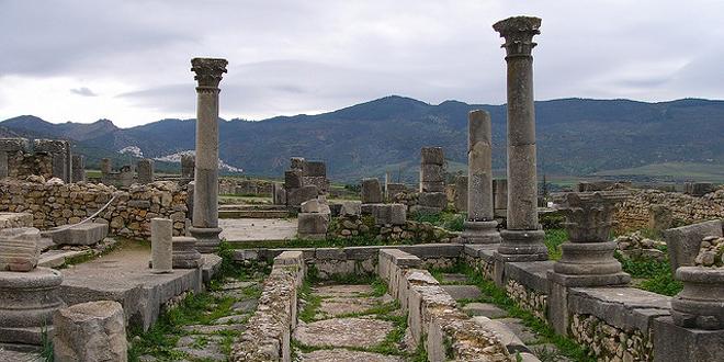 Las increíbles ruinas de Volubilis