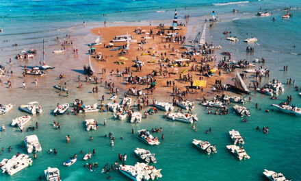 Areia Vermelha: una isla muy efímera