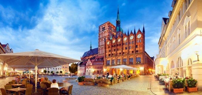 Cascos antiguos de Wismar y Stralsund (Alemania)