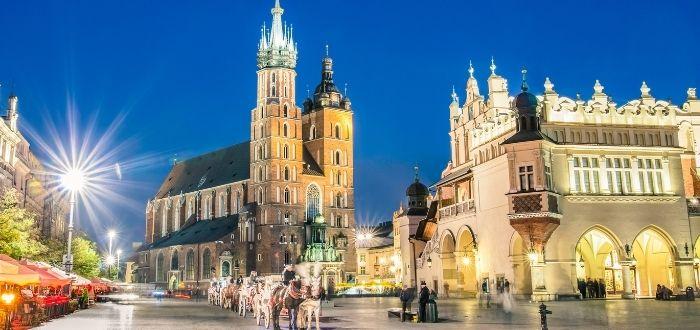 Centro histórico de Cracovia (Polonia) Barrios patrimonio de la humanidad