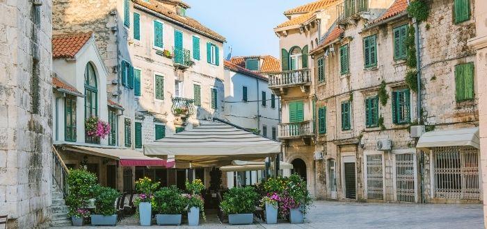 Centro histórico de Split (Croacia) Barrios Patrimonio de la Humanidad